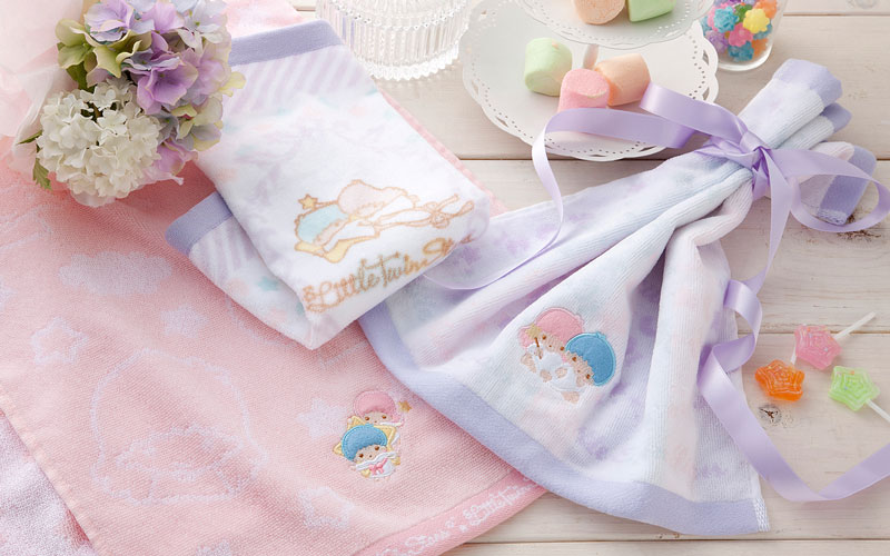 Little Twin Stars/milky towels