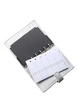 GIULIANO MAZZUOLI ×FIATコラボ System Notebook Sサイズ 白