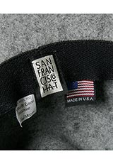 SANFRANCISCO HAT LONG BRIM HAT GRAY