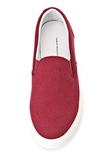 Urban Research DOORS SLIP ON BURGUNDY