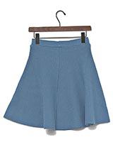 Sonny Label ニットフレアースカート ブルー