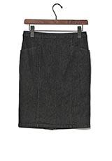 Sonny Label ストレッチデニムタイトスカート ブラック