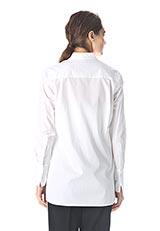 BY MALENE BIRGER スタンドカラーコットンシャツ PURE W