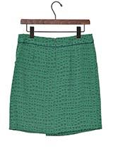 ブライトオールド スカート グリーン