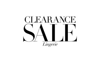 Clearance Lingerie