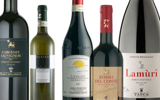 話題のイタリアンレストラン推奨ワイン