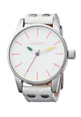 OOZOO ポップカラ―ウォッチ ホワイト