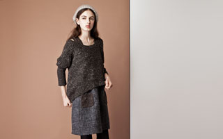 ArtWork Blue:Feminin knits