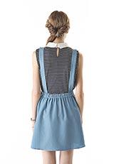KBF 2WAYジャンパースカート ブルー