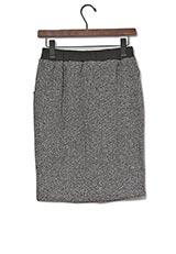 Sonny Label ツイード風カットタイトスカート ブラック