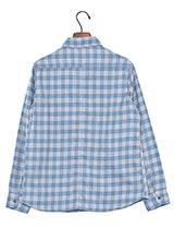 Sonny Label チェックネルシャツ ブルー