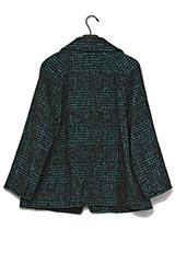 ツイードシングルジャケット グリーン