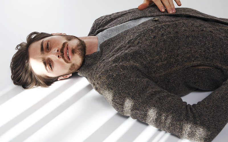 Transfer cashmere for Men