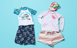 Swimwear Selection for Kids