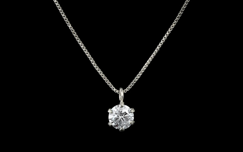 Platinum Diamond Necklaces