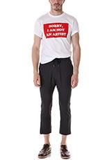 POPFACTORY SORRYデザインTシャツ WHT