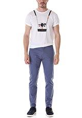 POPFACTORY カメラモチーフデザインTシャツ WHT