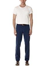 URBAN RESEARCH ピグメントクルーネックポケットTシャツ White