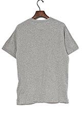 ONE MILE WEAR メッセージプリントTシャツ gray