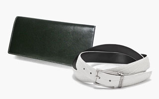 MEN'S BELT & WALLET SELECTION