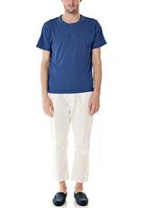 FORK&SPOON オーガニック Tシャツ ブルー