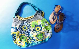 ne Quittez pas:Bags and Sandals