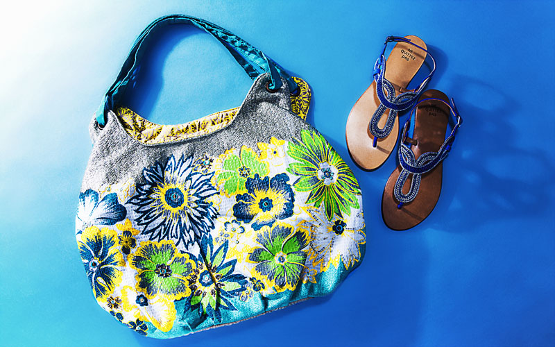 ne Quittez pas:Bags and Sandals