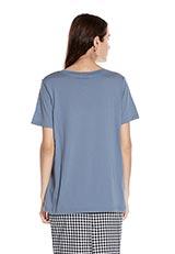 URBAN RESEARCH シンプルクルーネックTシャツ サックス