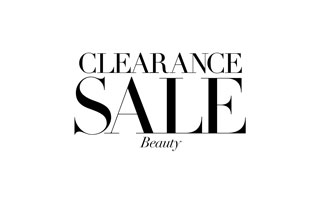 Clearance Beauty and Lingerie