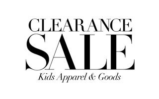 Clearance Kids Apparel and Goods