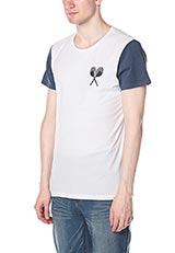 URBAN RESEARCH BWGH for PUMA コットングラフィックTシャツ パープル