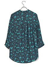 LEVI'Sグラフィックプリントシャツ ブルー