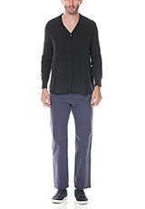 LEVI'Sシルクシャツ ブラック