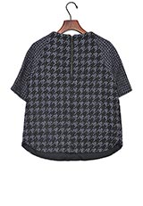 UNTITLED Jサファイアチドリジャージシャツ ネイビー
