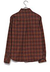 UNTITLED ペンデルトンチェックシャツ ブラウン