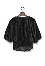 UNTITLED Lブラッシュジャケット ブラック