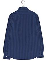 URBAN RESEARCH インディゴギンガムチェックシャツ Navy×Blue