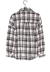 KBF+ ビックチェックシャツ BLACK