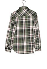 Sonny Label チェックシャツ カーキ