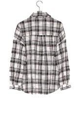 KBF+ ビックチェックシャツBLACK