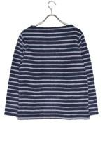 FORK&SPOON 起毛ボーダーカットソーNAVY×WHIT