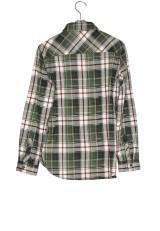 Sonny Label チェックシャツカーキ