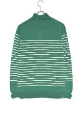 DOORS Washable Wool Turtle Knit  GRN×OFF