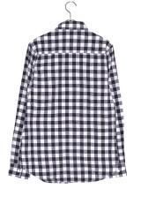 WARE HOUSE ミニブロックチェックネルシャツ3  NVY/WHT