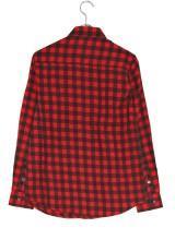 WARE HOUSE ミニブロックチェックネルシャツ3  BLK/RED