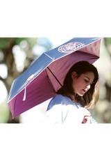 晴雨兼用折りたたみ傘 99.9% ダリア