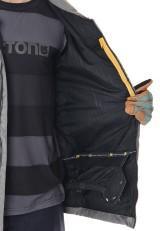 Analog Feud Jacket Heather Grey / Refle