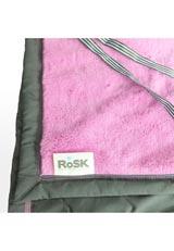 ROSK Woobee Plush ベビーカー掛け/マルチブランケット ラズベリー