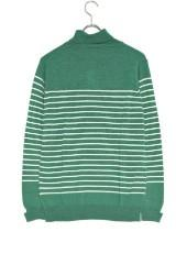Washable Wool Turtle Knit GRN×OFF