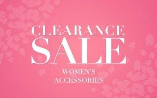 CLEARANCE WOMEN'S  ACCESSORIES